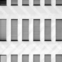 Grey Facade of a Building