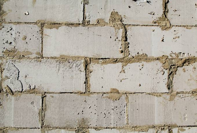 wall brick cement