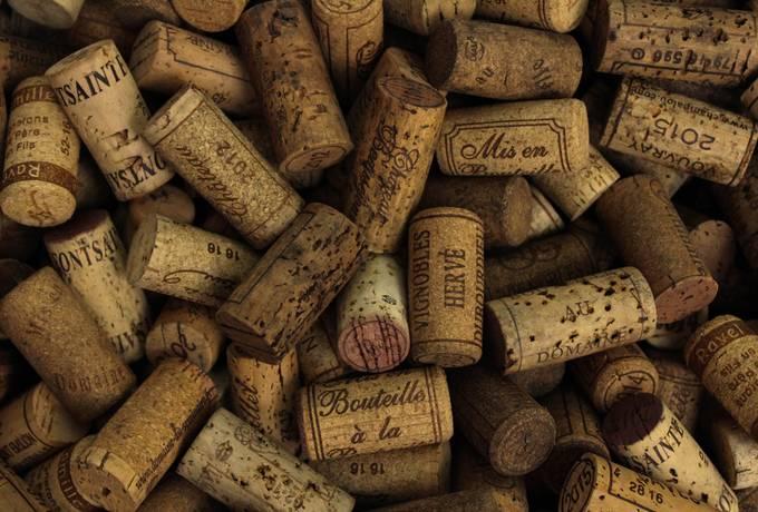 free Corks of Vines Bottles texture