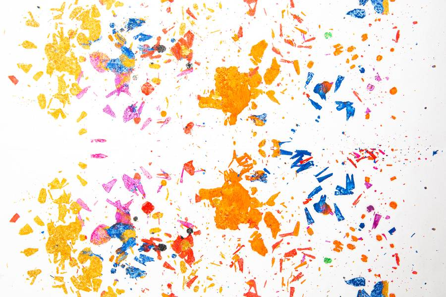 Colored Particles free texture