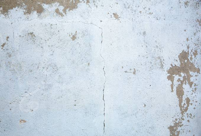 White Cement Wall Surface