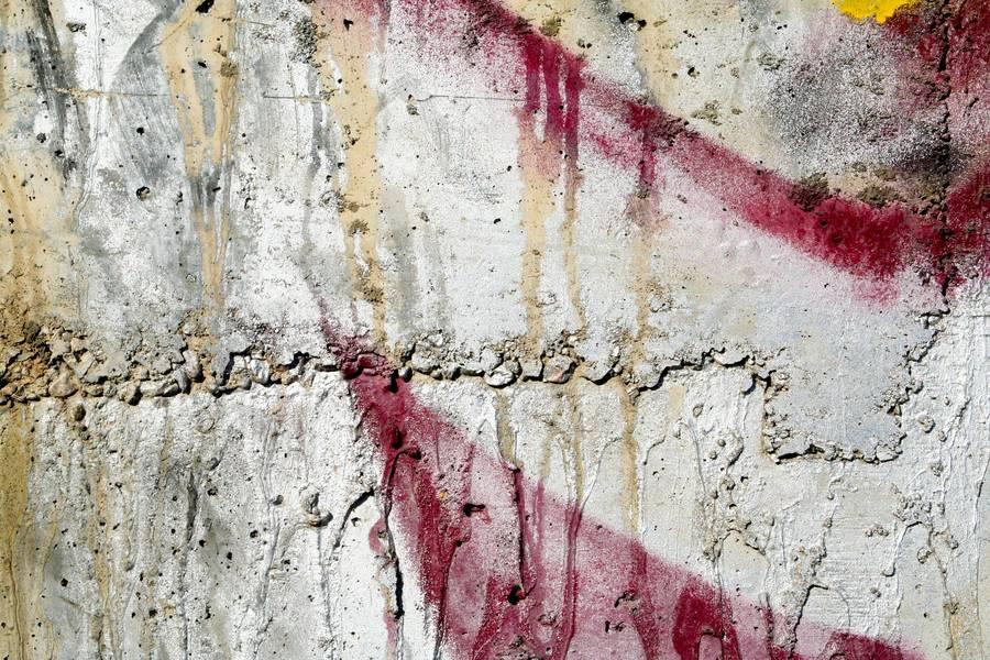 Cement Wall Graffiti : Concrete graffiti spray free texture