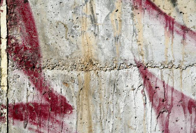 spray splatter concrete