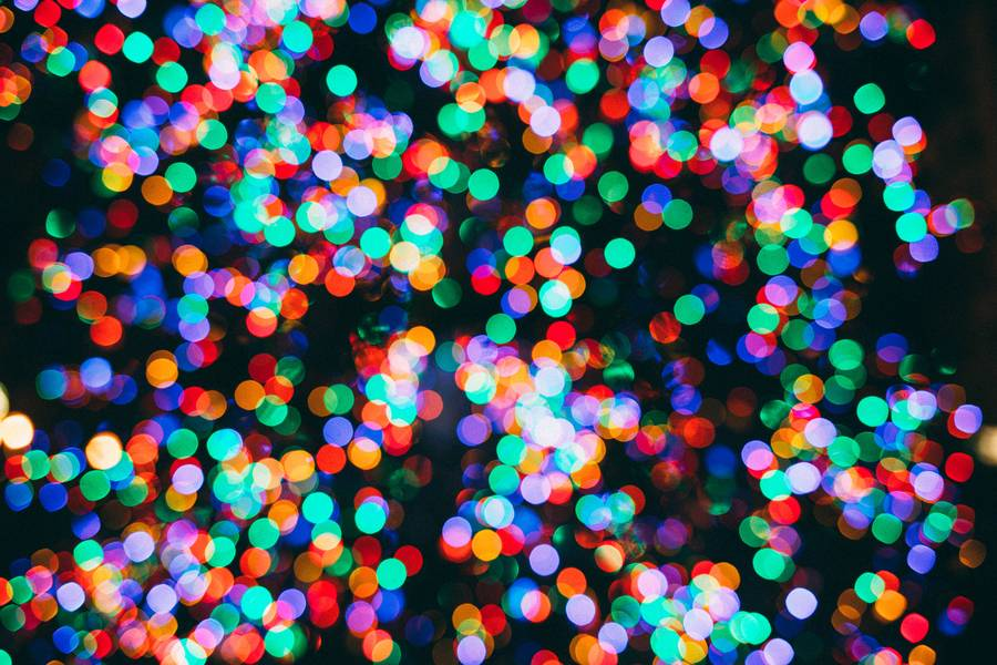 Colorful Bokeh Abstract Background free texture