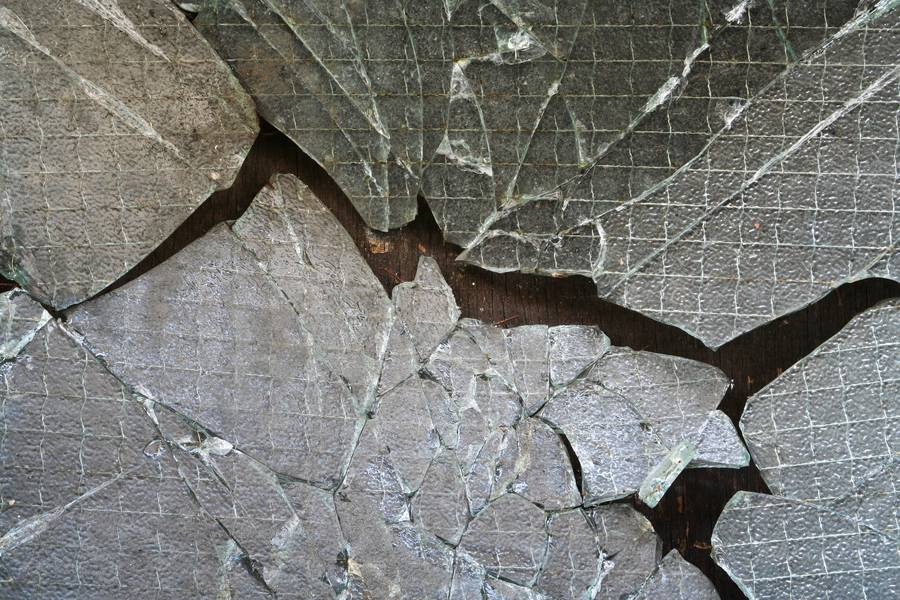reinforced cracked glass free texture