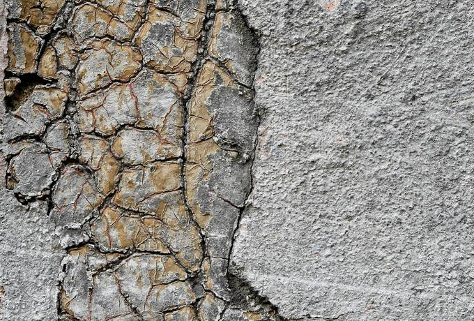 free cracked plaster wall texture