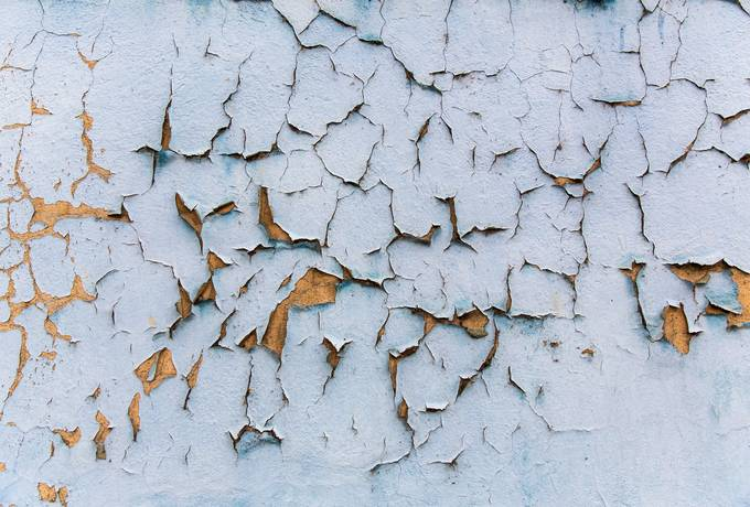 Cracked Wall Closeup