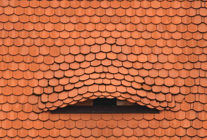 free Red Clay Roof Tiles Terracotta texture