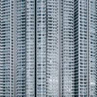 Building Facade, Tung Chung, Hong Kong