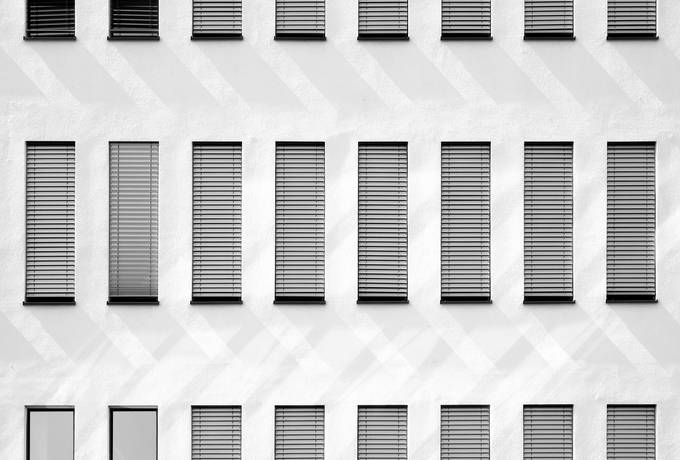 free Grey Facade of a Building texture