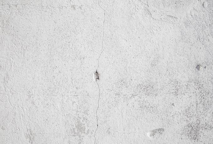 White Old Concrete Wall
