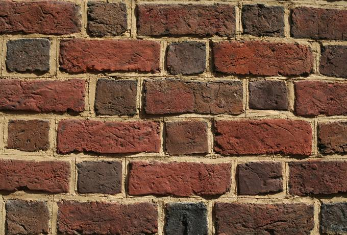 renovated wall brick