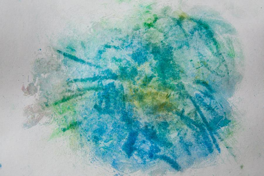 Watercolor Blue Abstract free texture
