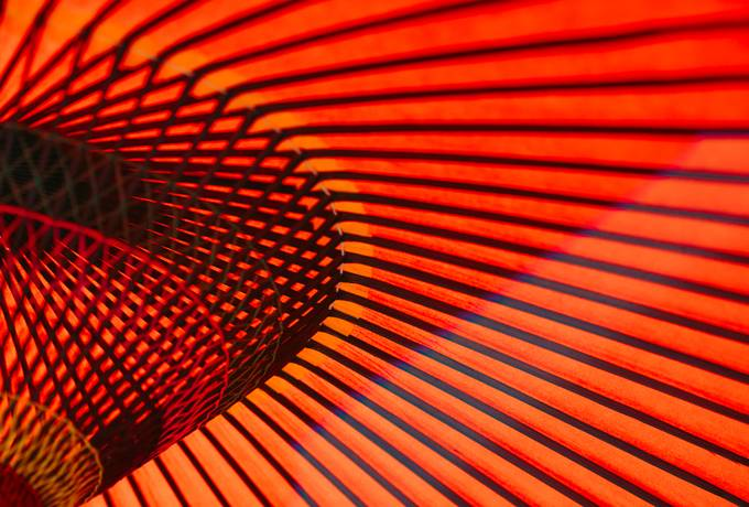 Red and Orange Abstract