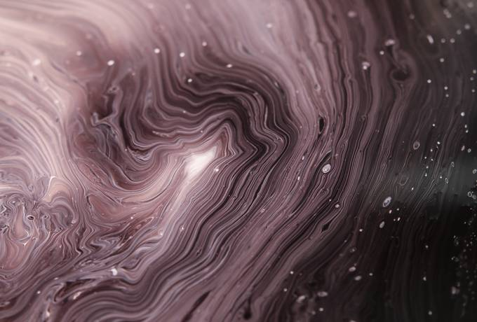 Abstract Purple Liquid