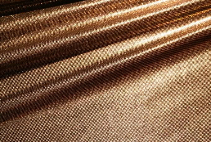 fabric shiny metallic