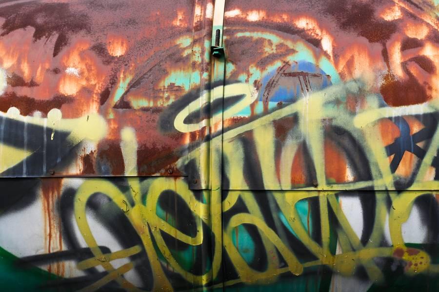 metal graffiti splatter free texture