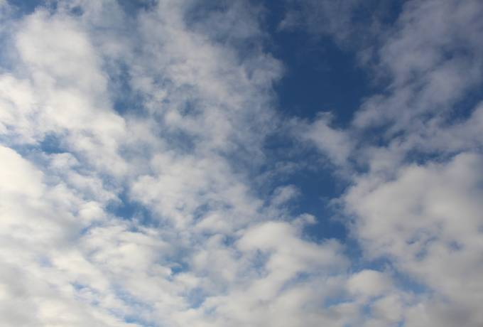 free Blue Sky with Clouds Background texture