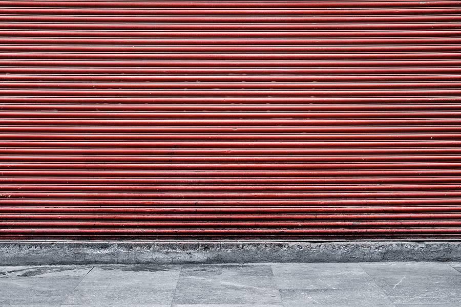 Red Street Shutter free texture