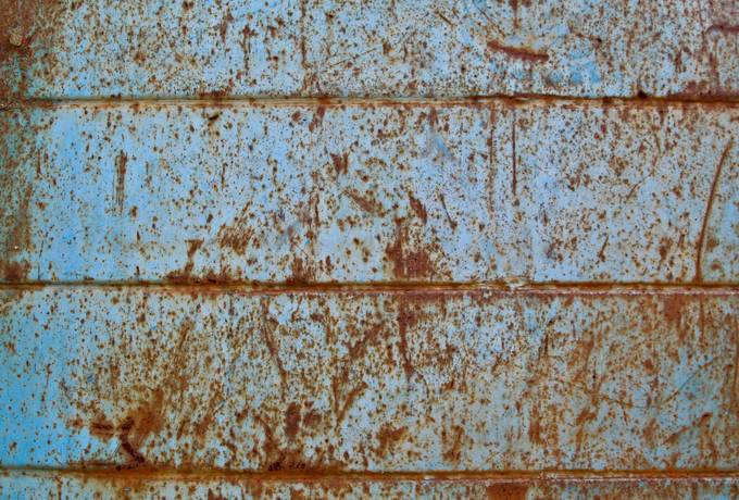 free rusty blue metal texture
