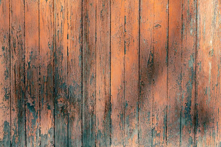 Dilapidated Orange Planks free texture