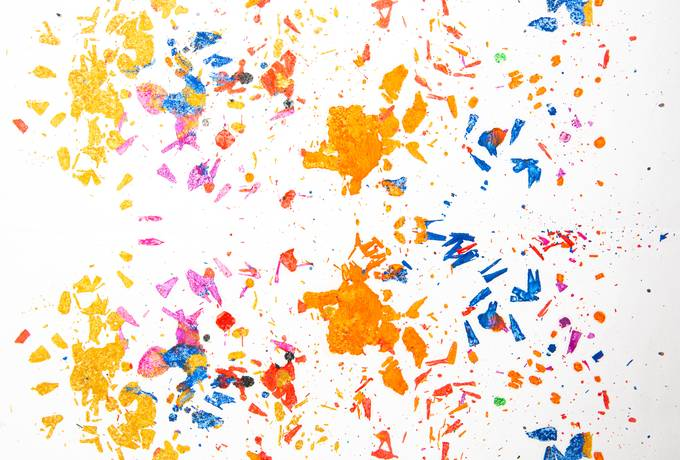 free Colored Particles texture