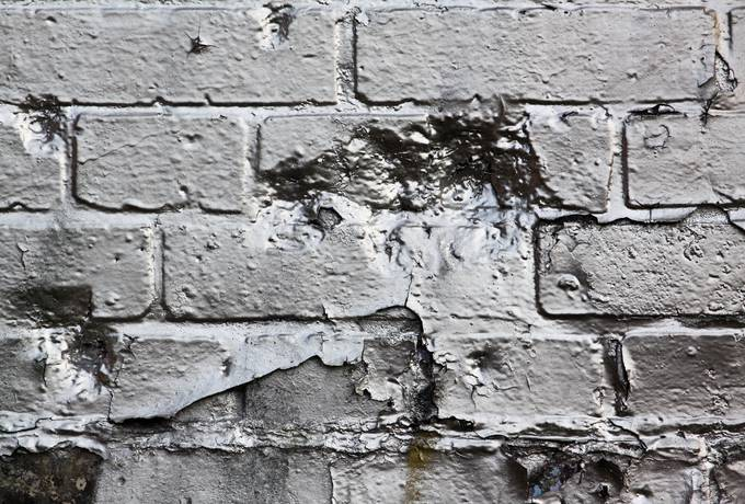 free silver paint wall texture