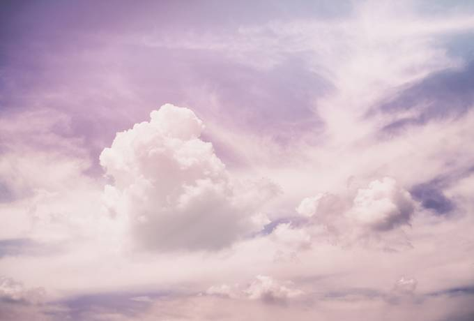 Soft Sky with a Pastel Colors