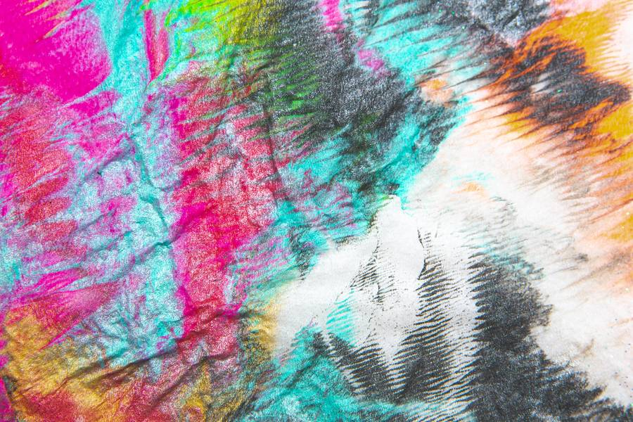 Colorful Metalic Painting free texture
