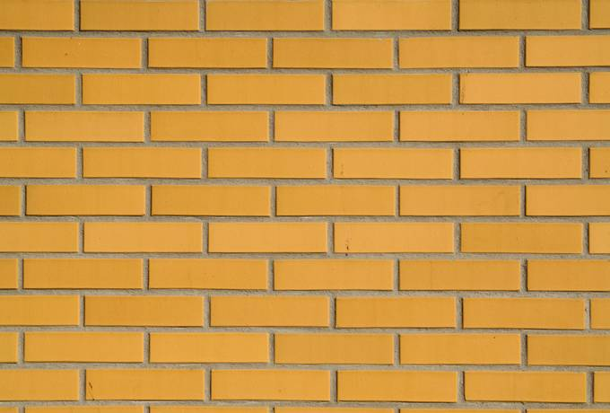 yellow wall brick