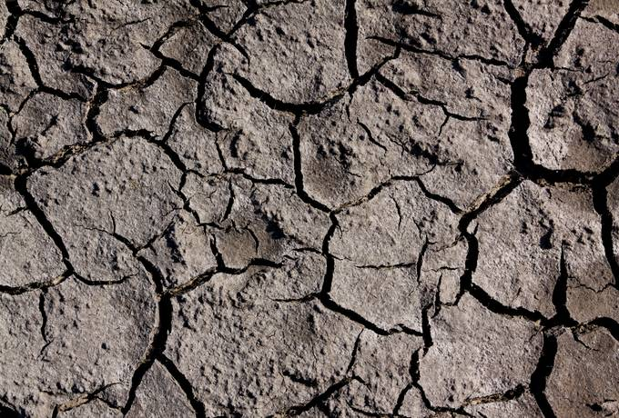 free soil dry cracked texture