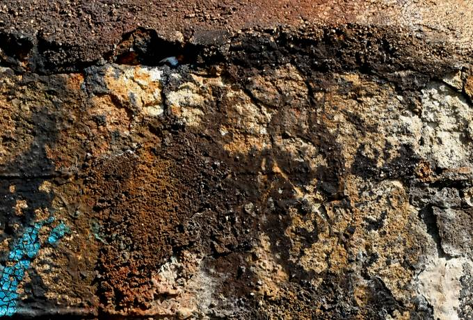 free wall concrete damaged texture