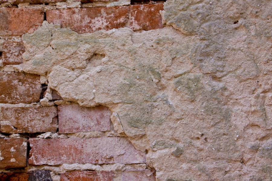 brick damaged plaster free texture
