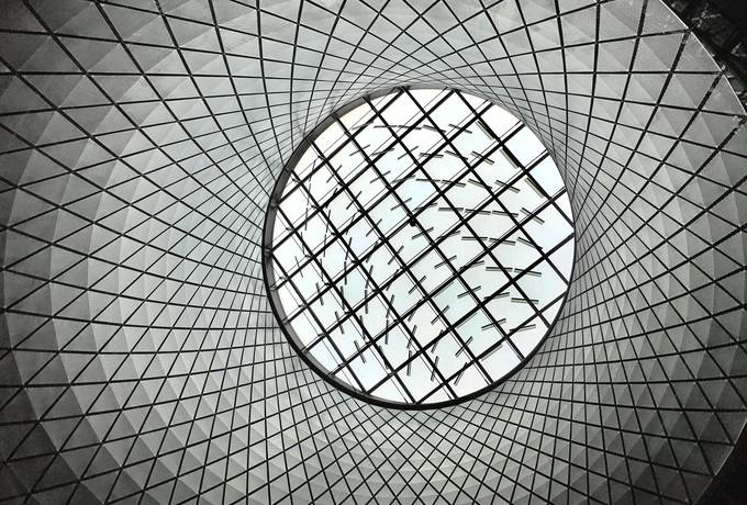 free Geometric Dome texture