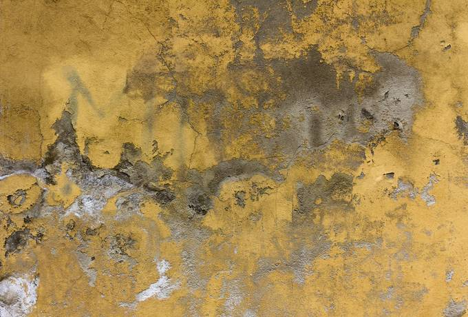 free Old Yellow Painted Wall texture