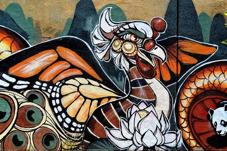 Streetart Painting free texture