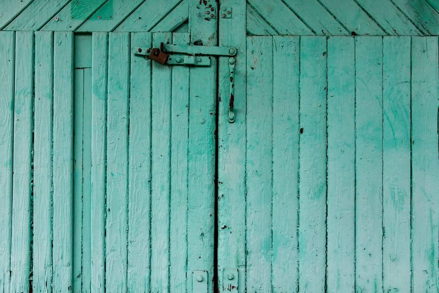 Aquamarine Wood Doors free texture