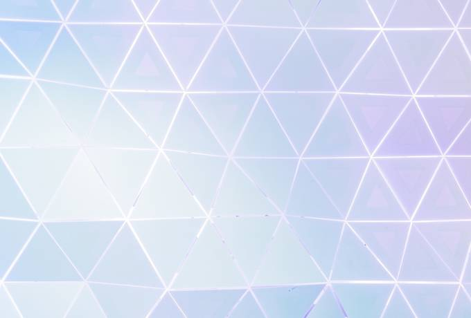 Abstract Pattern with Pastel Triangles