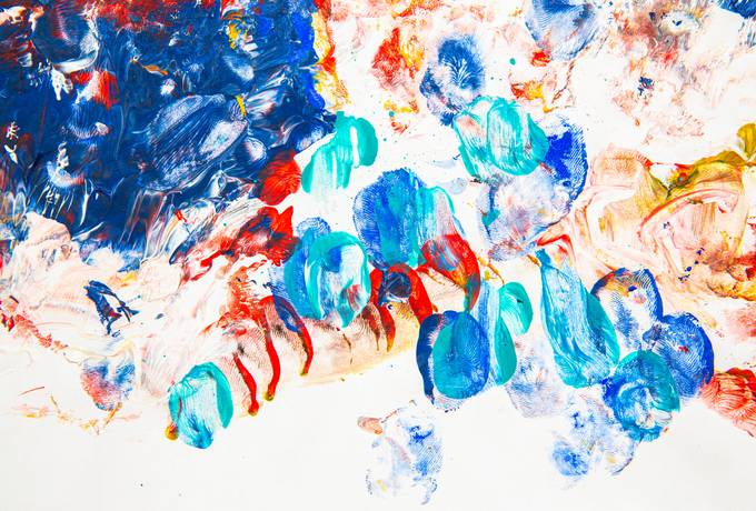 free Colorful Fingerprints Abstract texture