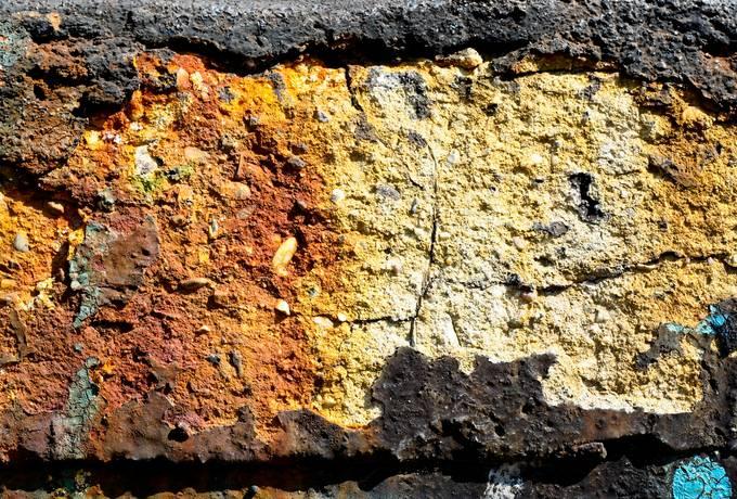 concrete cracked grunge