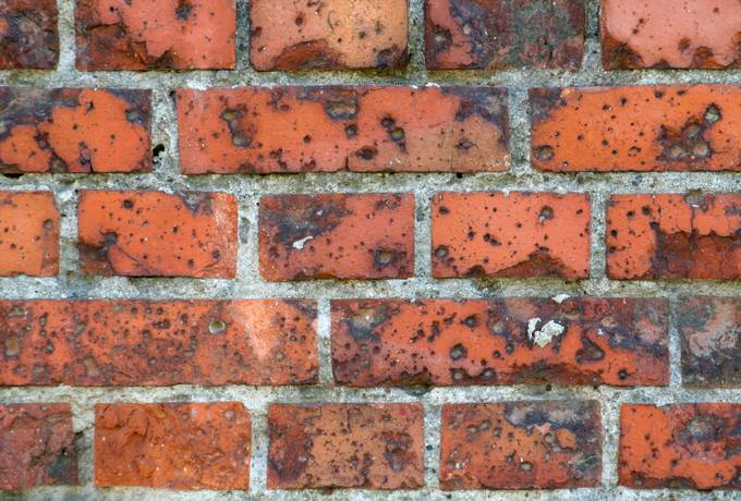 brick rough wall