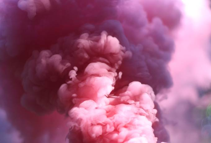 Abstract Pink Smoke texture