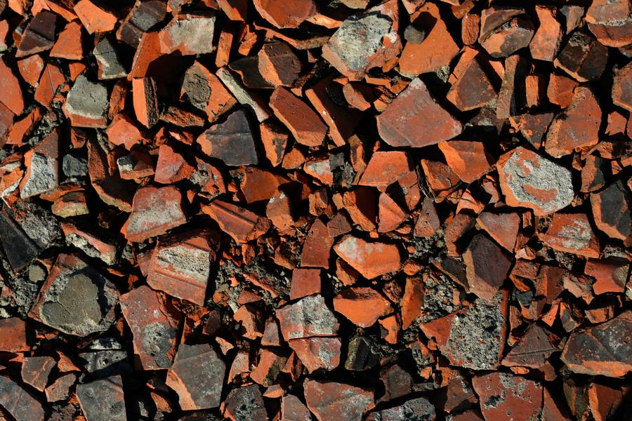 debris rubble brick free texture