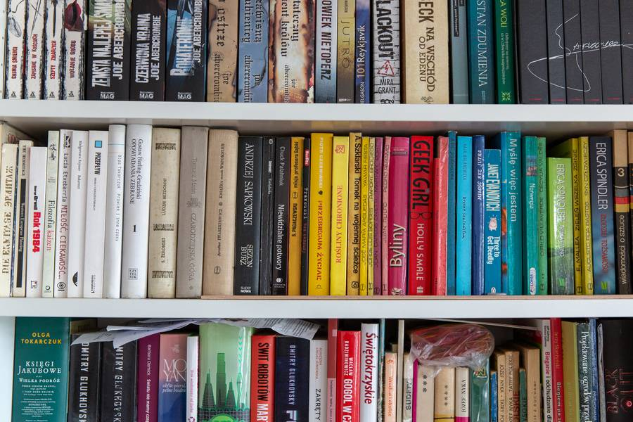 Bookshelf free texture