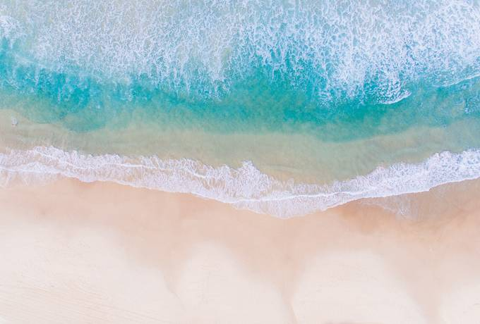 free Aerial View of Beach texture