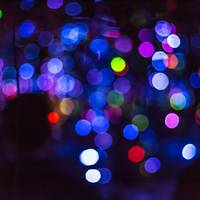 Abstract Colourful Bokeh Background