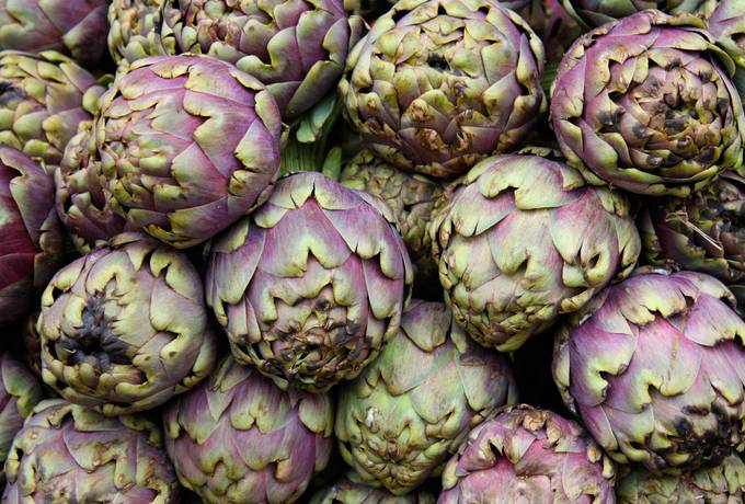 free artichoke vegetables nature texture