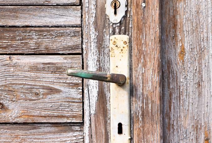handle lock door