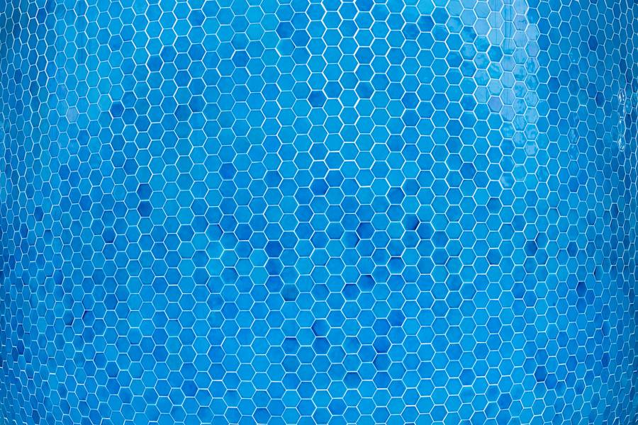 Blue Hexagons Pattern free texture