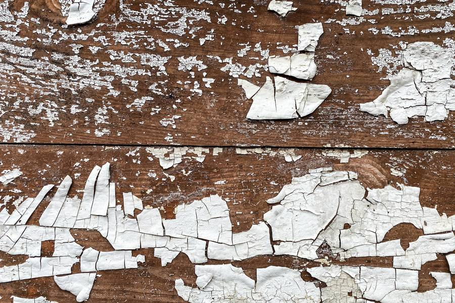 Cracked White Paint on Wood free texture